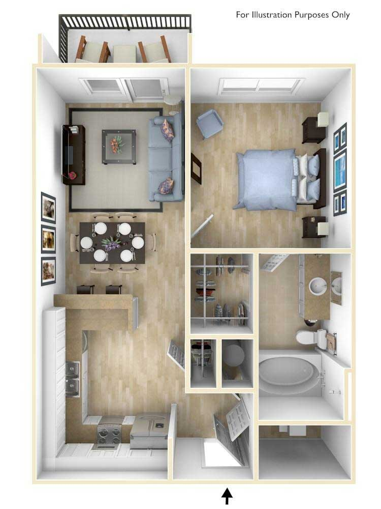 Little River Floorplan